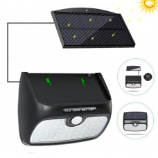 Solar Lights Outdoor, 48 LED Super Bright Detachable Solar Panel 8.2ft Extension Cord Waterproof Security Nightlight with Motion Sensor Detector